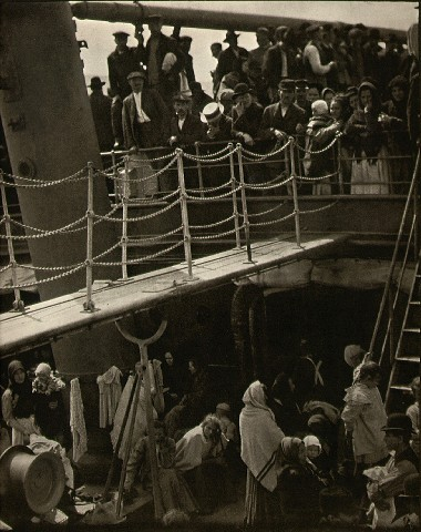 The Steerage, 1907 - Photograph by Alfred Stieglitz