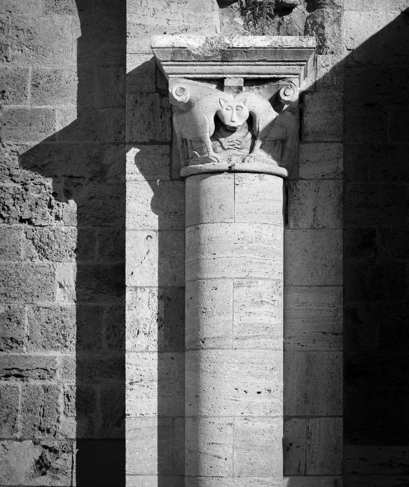 Sant' Antimo, Castelnuovo dell'Abate, Toscana, 2014