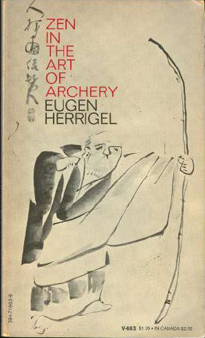 Zen in the Art of Archery - old cover art