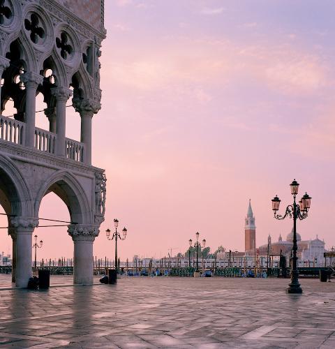 Venice, Sunrise - Photograph by Jeff Curto