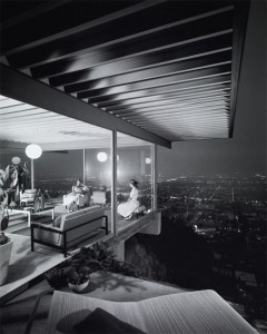 Koenig's Case Study House #22, photographed by Julius Shulman
