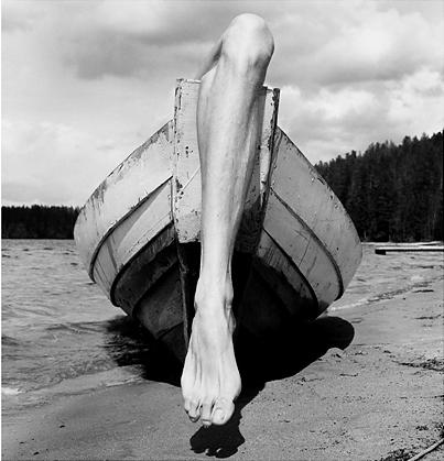 1976 - Kuusamo, Finland - photograph by Arno Raphael Minkkinen