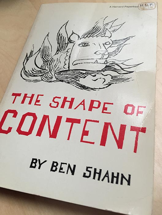 Ben Shahn's The Shape of Content