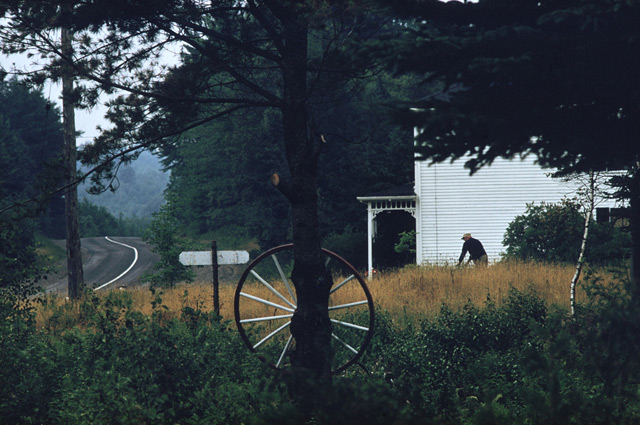 New England - Photograph by Ernst Haas