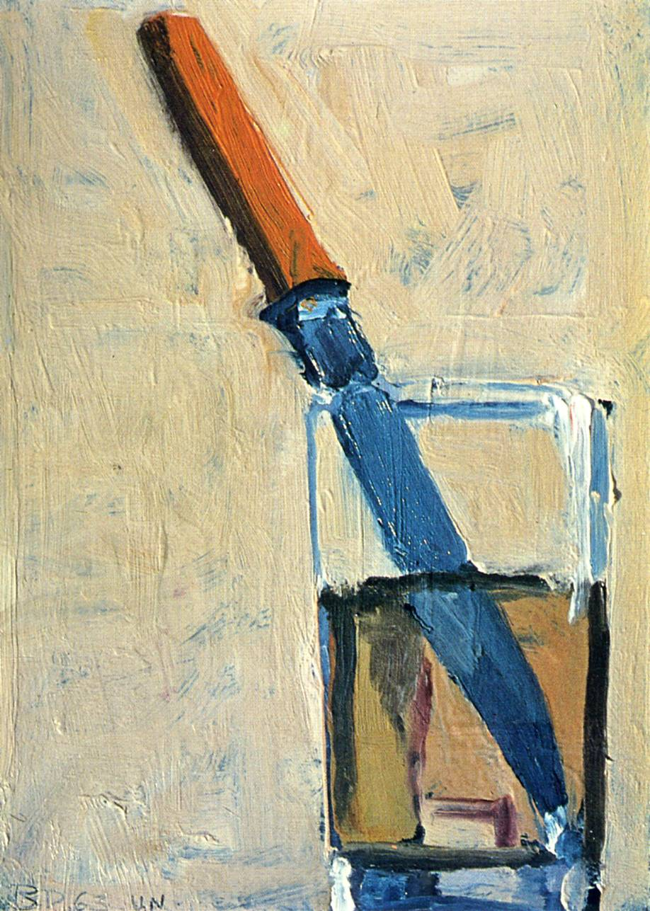 Richard Diebenkorn - Knife in a Glass, 1963