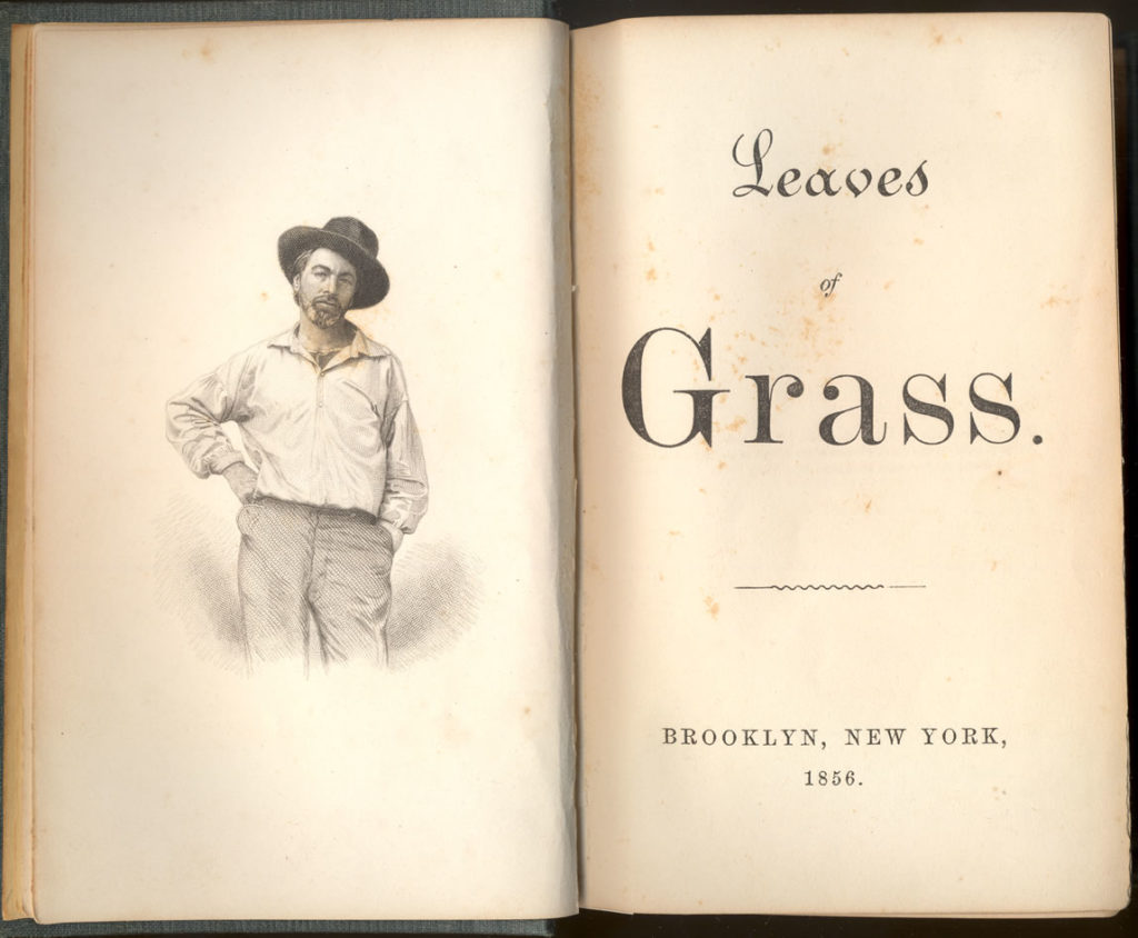 Leaves of Grass - 1856 Edition, Frontispiece and Title